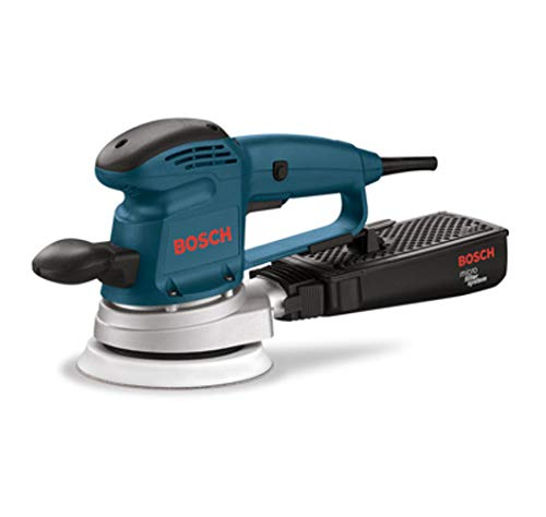 Bosch 3727DEVS 3.3 Amp 6-Inch Hook-and-Loop Random-Orbit Variable-Speed Sander/Polisher with Dust...