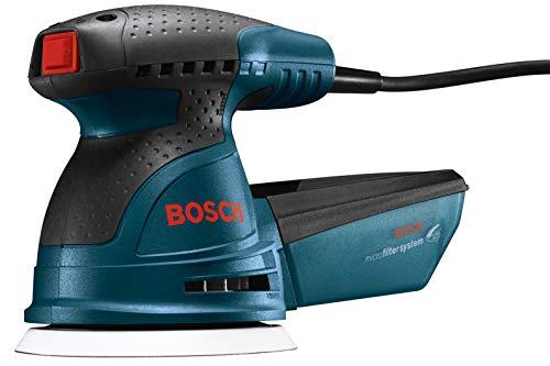 Bosch ROS20VSC Palm Sander - 2.5 Amp 5 in. Corded Variable Speed Random Orbital Sander/Polisher Kit...