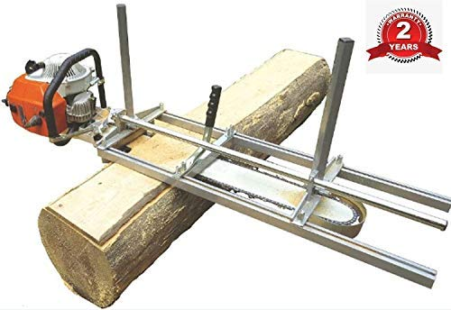 TTF Chainsaw Mill Attachment Chainsaw Milling Planking Milling Bar Planking Cutting Guide Bar...