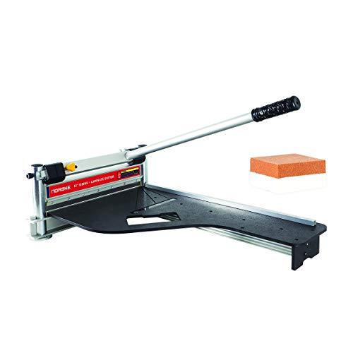 Norske Tools Newly Improved NMAP001 13 inch Laminate Flooring and Siding Cutter with Heavy Duty...