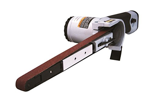 Astro Tools 3037 Air Belt Sander (1/2' x 18') with 3pc Belts (#36, #40 & #60)