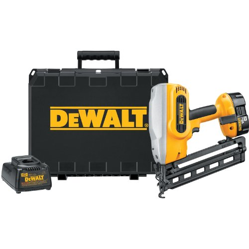 DEWALT DC618K XRP 18-Volt Cordless 1-1/4 Inch - 2-1/2 Inch 16 Gauge 20 Degree Angled Finish Nailer...