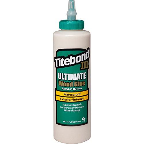 Titebond III Ultimate Wood Glue, 16-Ounces #1414