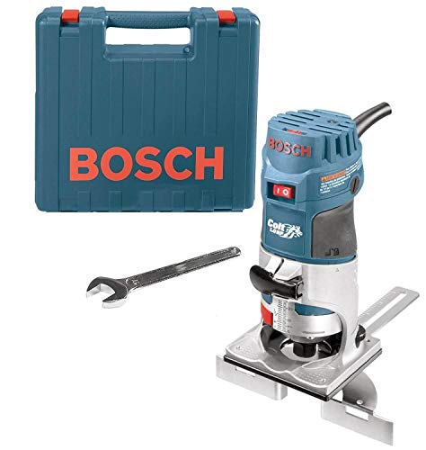 Bosch PR20EVSK-RT Colt Palm Grip 5.7 Amp 1-Horsepower Fixed Base Variable Speed Router with Edge...