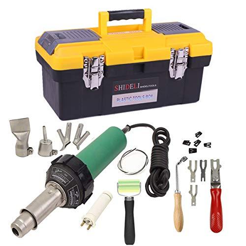 Beyondlife 1600W Plastic Welder Welding Tool Heat Heating Gun Torch Hot Air Pistol PVC Welder...