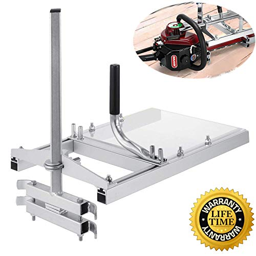 chainsaw mill Portable Chainsaw mill 20' Inch 304 stainless steel and Aluminum Planking Milling Bar...
