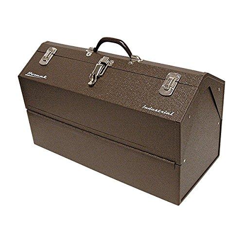 Homak Industrial 22-Inch Cantilever Steel Toolbox, Brown Winkle Powder Coat, BW00210220