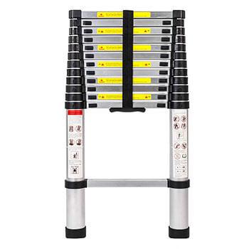 Senrob 12.5 FT Best Aluminum Folding Ladder Extension