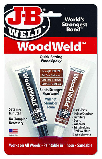J-B Weld 8251- For Wood Bonding And Repairs