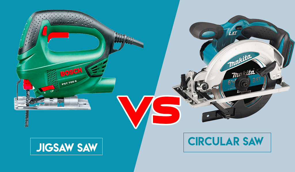 Jigsaw Vs. Circular Saw| Differences Between Them