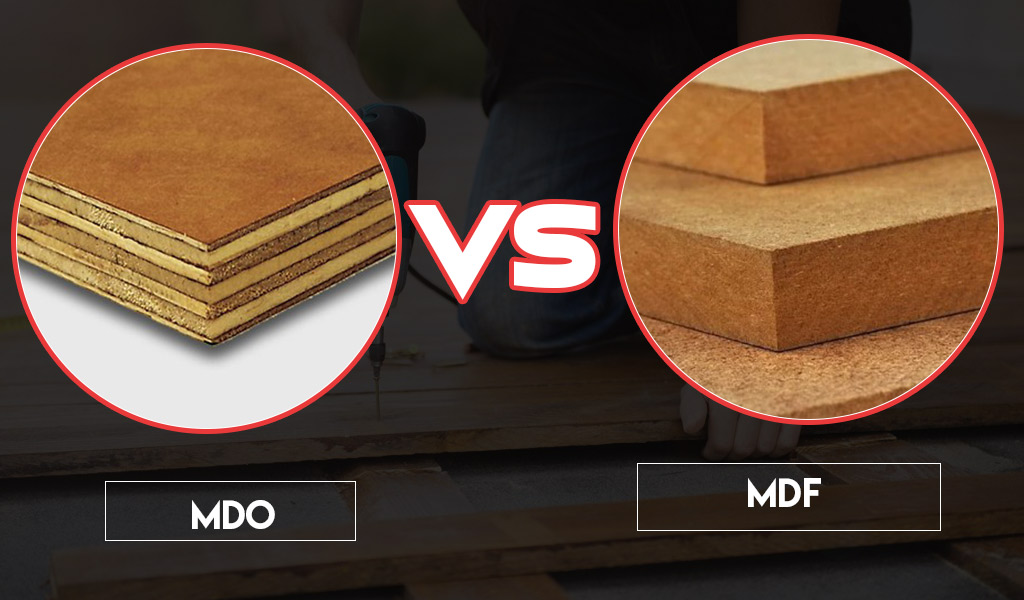 Differences between MDF and MDO