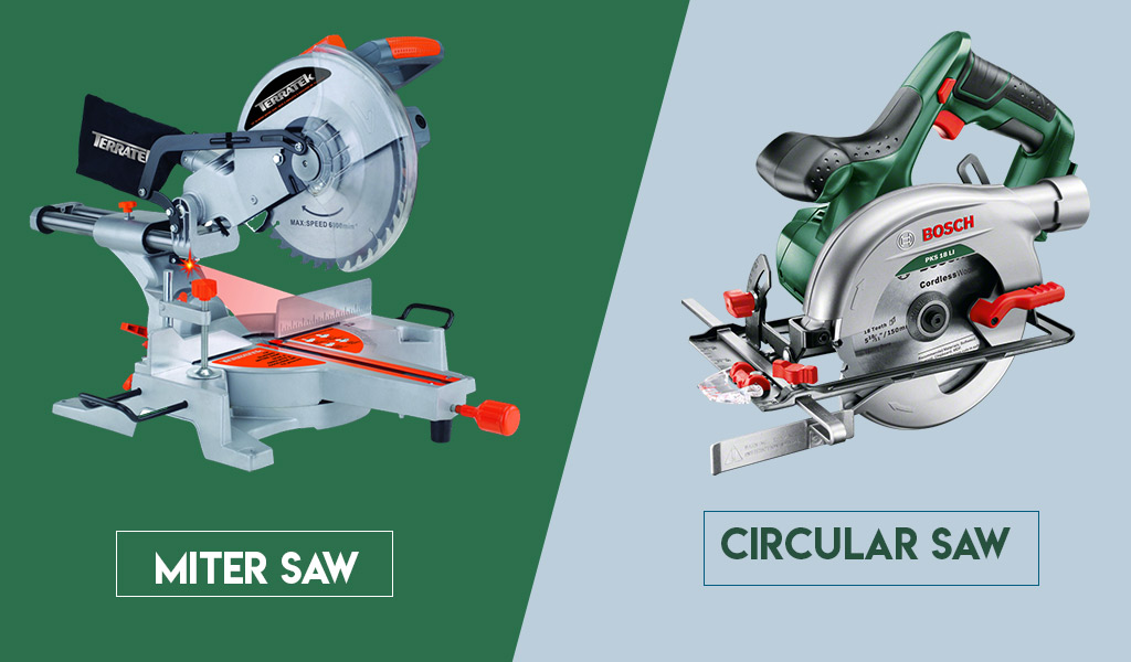 Differences Between a Miter Saw and a Circular Saw