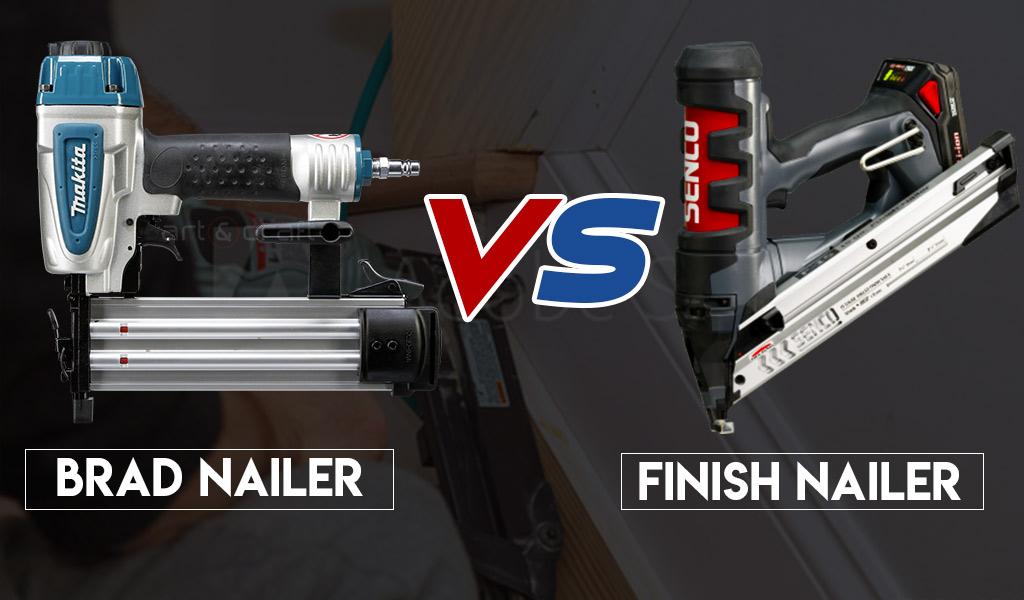 Brad Nailer vs. Finish Nailer- Everything You Should Know