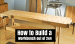 How to Build a Workbench out of 2×4