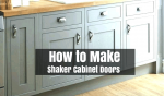 How to Make Shaker Cabinet Doors