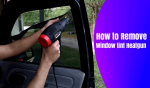 How to Remove Window Tint Heat Gun