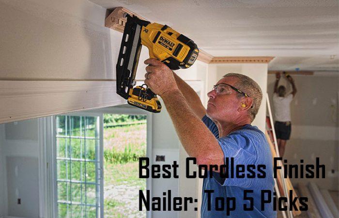 Best Cordless Finish Nailer
