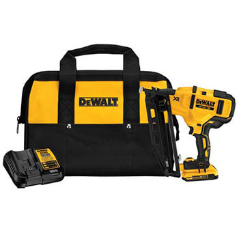 DEWALT DCN660D1 Cordless Angled Finish Nailer Kit