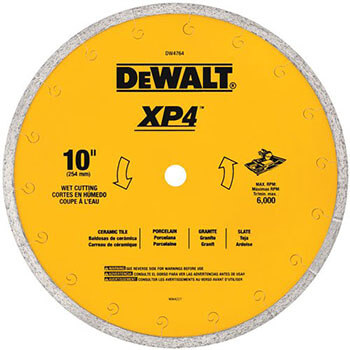 DEWALT DW4764-Blade for Tile, Wet Cutting