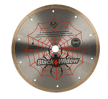 QEP 6-8008BW Black Widow Wet Cutting Blade