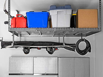 Best-8-Feet Ceiling Mount Garage Storage Rack