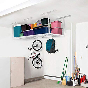 FLEXIMOUNTS Best 3x8 Overhead Garage Ceiling Storage
