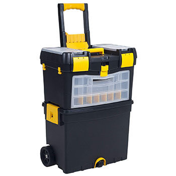 Heavy Duty Rolling Tool Bag Organizer With Wheels