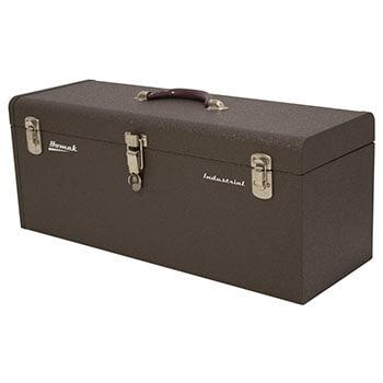 Homak, Brown Best 20-Inch Industrial Steel Toolbox BW00200200