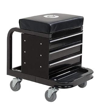 Omega Black Tool Box Creeper 92450
