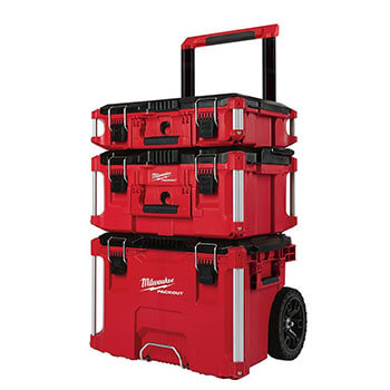 Pack-out Rolling Modular Tool Box And Stackable Storage System