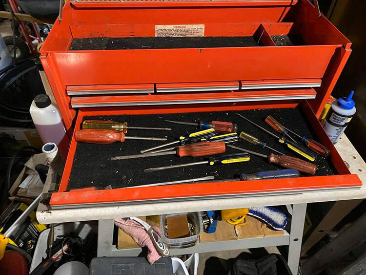 Portable Mechanics Tool-Box