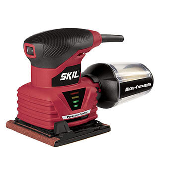 SKIL 7292-02 Best Palm Sander with Pressure Control