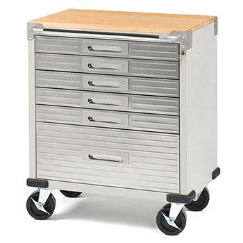 Seville Classics UltraHD Rolling Cabinet