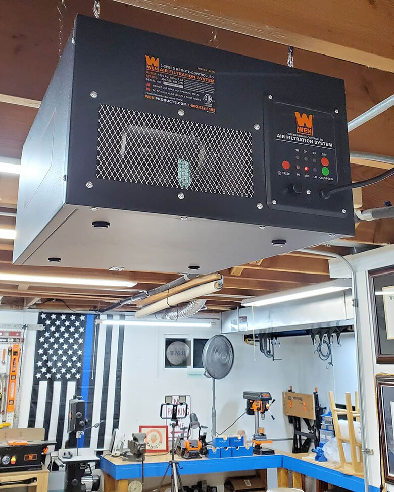 Woodshop Air Filtration System