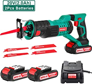 HYCHIKA Cordless Reciprocating Saw