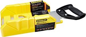 Stanley, Black & Decker Saw Storage Mitre Box with Backsaw