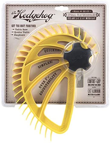 The Hedgehog, Premium Spiral Featherboard