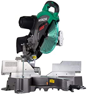 Hitachi C12RSH2 Sliding Compound Miter Saw with Laser Marker